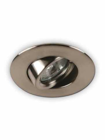 priori x3503 led recessed light gu10 satin nickel ic
