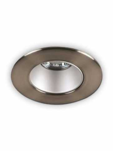 priori x3504 led recessed light gu10 satin nickel ic