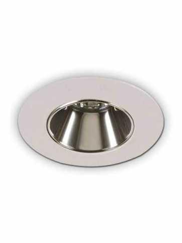 Contrast Lighting X3507-11 Priori Matte White Light Trim (recessed_light_trim)