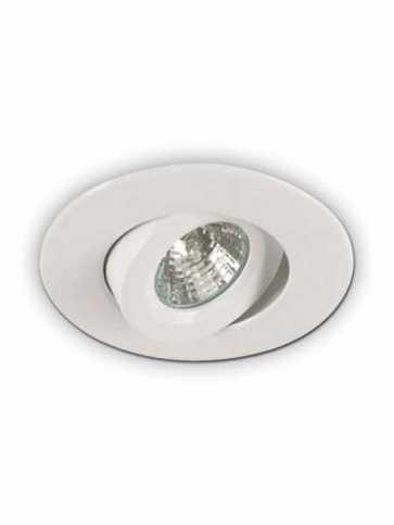 priori x4001 led recessed light gu10 white