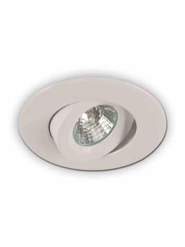 priori x4001 led recessed light gu10 matte white