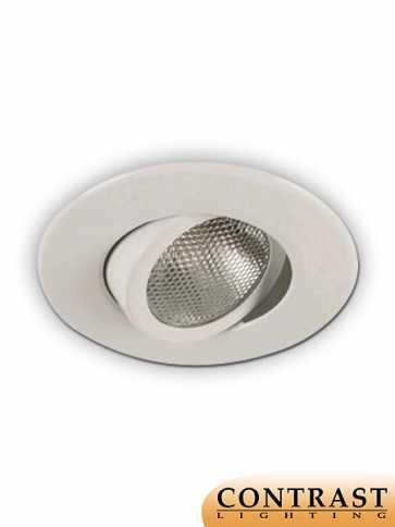 Contrast Lighting X4004-11 Priori Matte White Light Trim (recessed_light_trim)