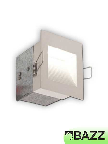Bazz Wall Mounted 1 5w Led Recessed Light White Trim