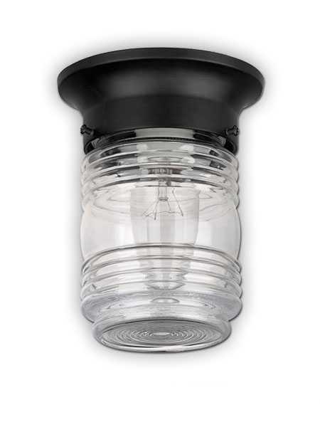 Canarm Outdoor Ceiling Light Black Finish Iol105bk