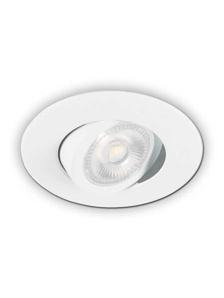 Prilux led recessed light par20 white ic remodel prir20 for Number of recessed lights per room