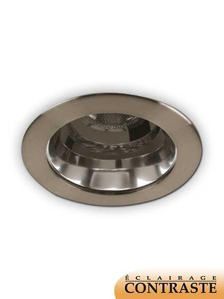 Priori X4005 LED Recessed Light PAR20 Satin Nickel IC