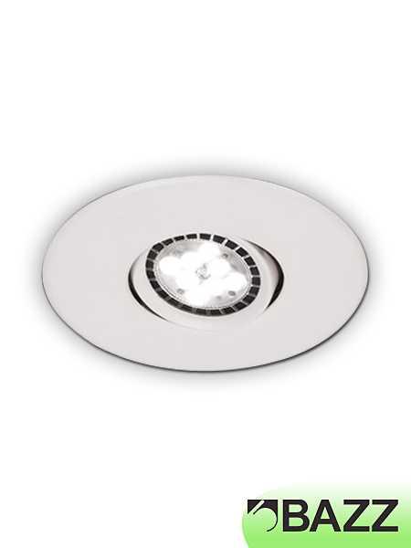 ... low-profile 7w led recessed light white trim 310lpl7w Zoom. Available Finishes  sc 1 st  Bestledz.com & Bazz FLEX4 Series Low-Profile 7W LED Recessed Light White 310LPL7W ... azcodes.com