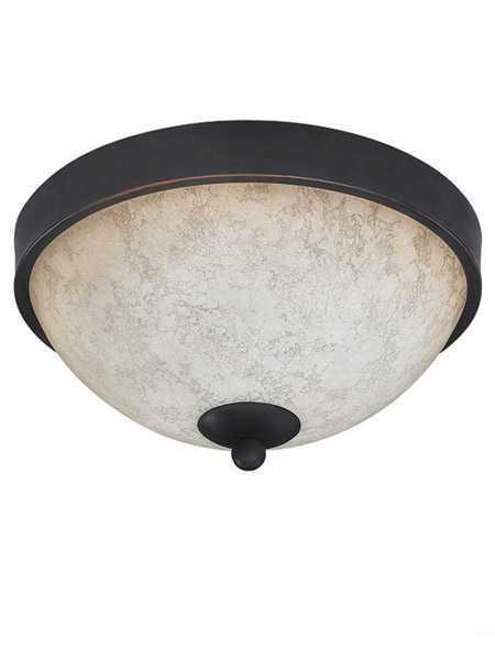 canarm warren 2 lights rubbed antique bronze fixture ifm375a11ra
