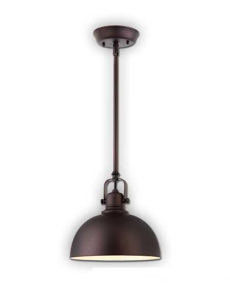Canarm Polo 1 Light Oil Rubbed Bronze Pendant Light IPL222B01ORB  (fixturewshade)