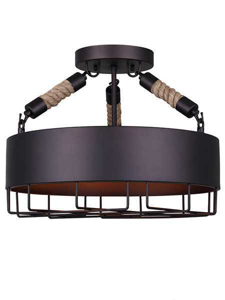 Canarm ISF662A03ORB 3Lights Oil Rubbed Bronze Semiflush Mount