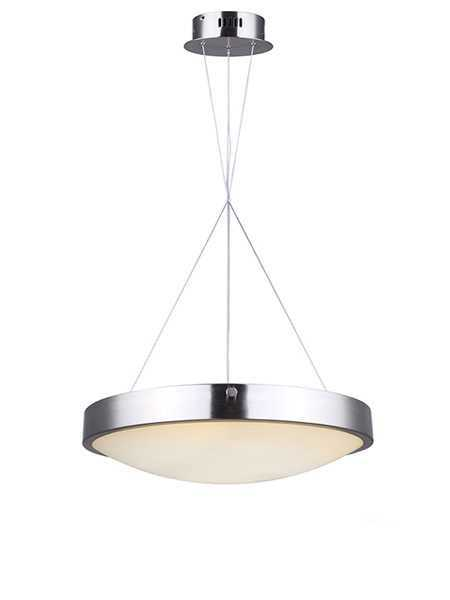Canarm hyde lch116a20bn brushed nickel wide cable led chandelier zoom mozeypictures Images