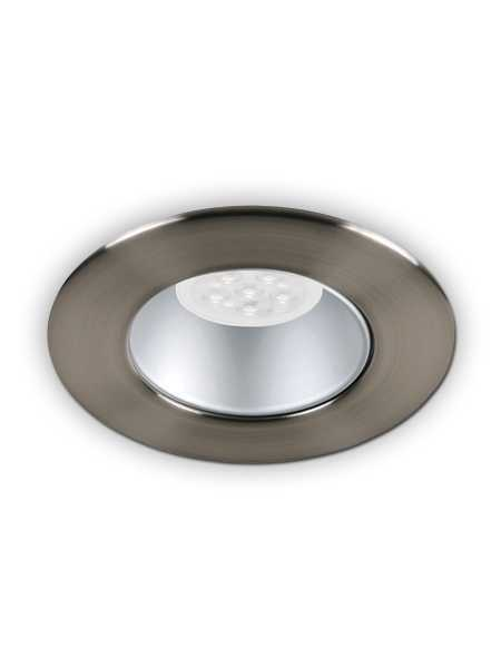 Minilux LED Recessed Light GU10 Baffle Satin Nickel IC Remodel MIR10 R13AN 72