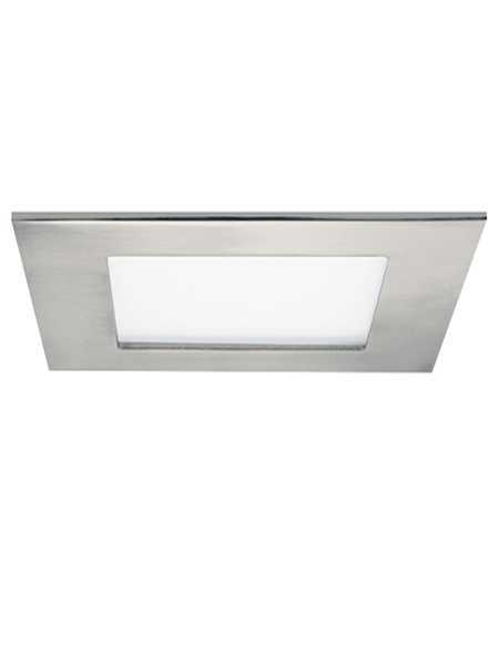 Profilux Led Square Recessed Light Brushed Nickel Ic