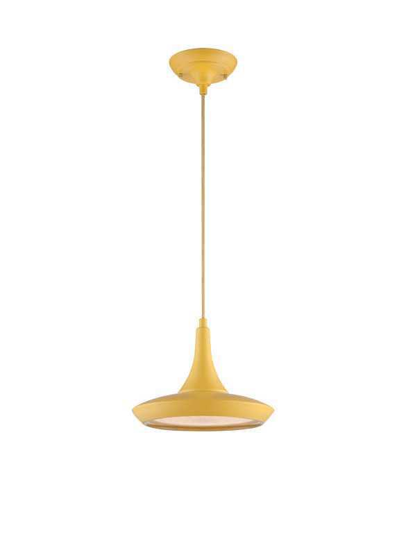 Nuvo lighting fantom 62 441 1 light yellow pendant light zoom mozeypictures Choice Image