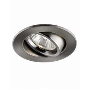 Bazz 303–605M Series Recessed Lights Brushed Chrome 10-Pk
