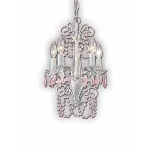 canarm danica white chandelier ich171b05wh