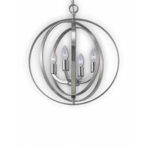 canarm meridian brushed nickel chandelier ich182b04bn18