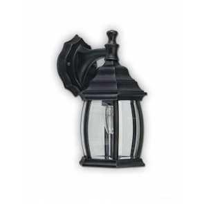 Canarm Outdoor 1 Light Black Wall Light IOL1210 (fixturewshade)