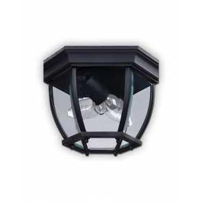canarm outdoor ceiling light black finish model 8 iol60bk