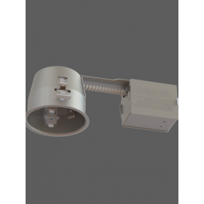 Evolution LED 4 in IC Air Tight Short Remodel Housing for GU10 LED Lamp IT2000CT-LED by Contrast Lighting