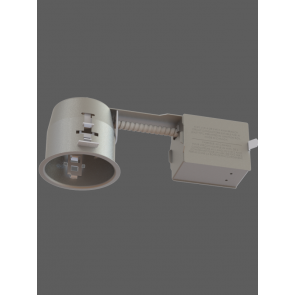 Evolution LED 3.5 in IC Air Tight Short Remodel Housing with Electronic Transformer for MR16 LED Lamp IT3000CE-LED by Contrast Lighting