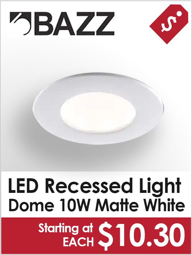 Bazz LED Recessed Lights