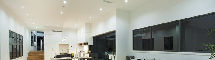Actualits how many recessed lights for your room bestledz lumens or light output will in part dictate how bright your room is how bright you want your room to be is dependent on two things what the room is used aloadofball Gallery
